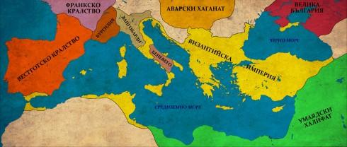 Византия в края на управлението на Ираклий, 641г.