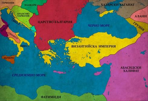 Византия в един от най-тежките си периоди - 920-927г.