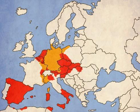 С над 27 реални титли зад гърба си, Карл V бил най-титулувания монарх в европейската история