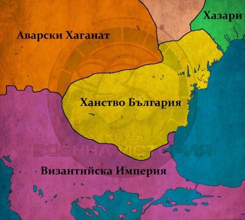 България при Тервел, ок. 720г.