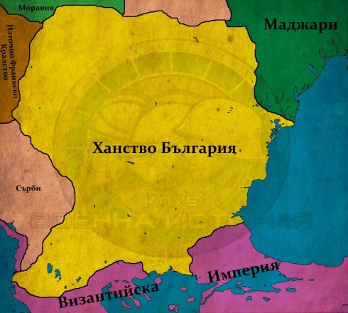 България при Персиян, 852г.