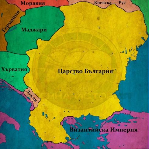 България при Симеон, 927г.