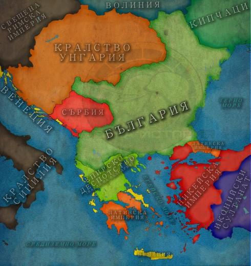 България при Йоан Асен II, 1240г.