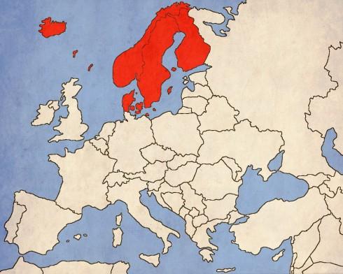 Обединени от датската кралица Маргарет, Швеция, Дания и Норвегия образуват една от най-големите държави в историята на Европа