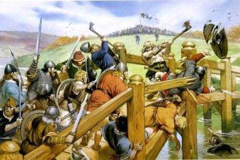 Безименният викингски берсерк печели точки преди да иде във Влахала