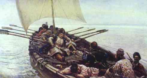 "Казашки кораб и неговия екипаж - т.нар. ""чайка"""