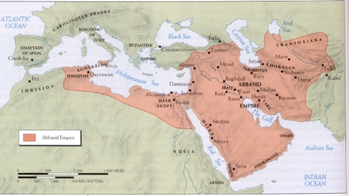 The Abbasid Empire, ca 900 C.E. HWC306