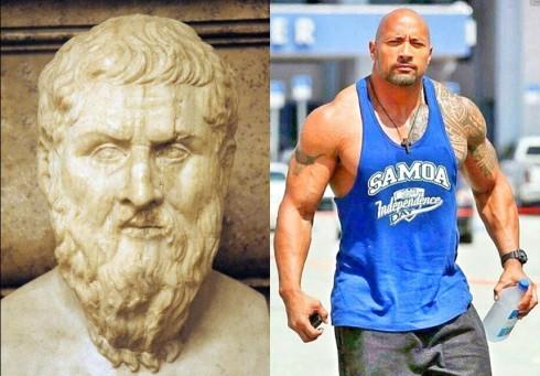 В древна Атина, шампионите по кеч ставали философи, а днес - стават актьори...