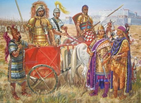 Така трябва да са изглеждали ахейските първенци преди битка