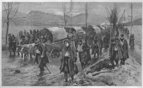 Отстъплението на сръбската армия