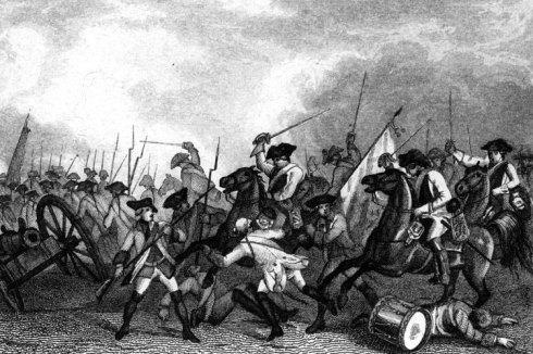 Атаката на пруската кавалерия при Росбах