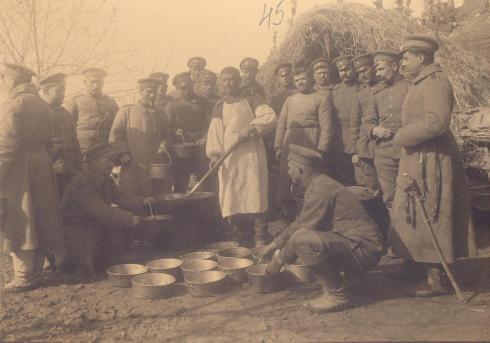 Български войници по време на войната