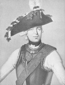 Фридрих Вилхемлм фон Зайдлиц, командир на пруската кавалерия и един от най-успешните висши офицери на Фридрих II