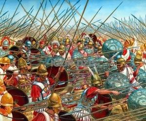 Атака на аргираспидите