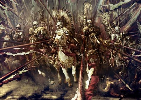полските крилати хусари били несъмнено най-страховитата европейска конница през Новото време...