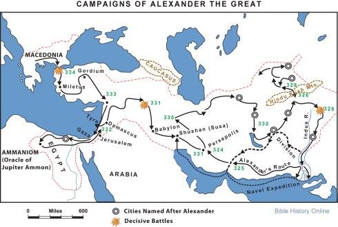 Кампанията на Александър Велики в Персия