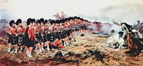 """""""Британската """"Тънка Червена линия"""" спира устрема на руската кавалерия при Балаклава"""