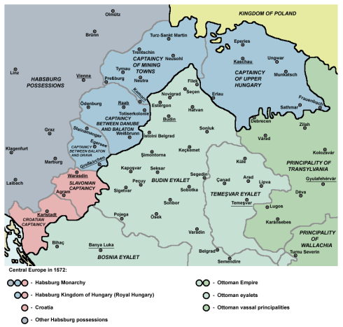 Подялбата на Унгария
