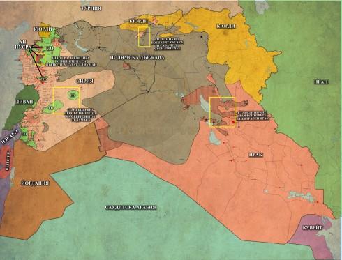 Близкият Изток, 18,12,2014г.