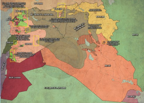 Близкият Изток, 24,11,2014г.