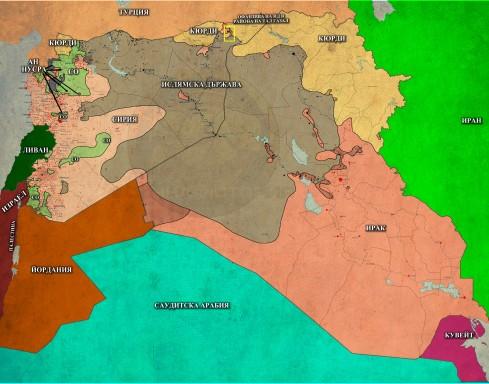 Близкият Изток, 24,12,2014г.