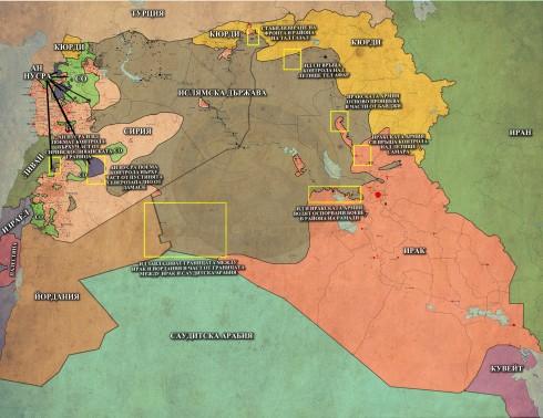 Близкият Изток, 29,12,2014г.