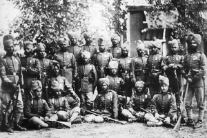 Афгански сепои от т.нар. Пехота на Водачите (Guide Infantry)