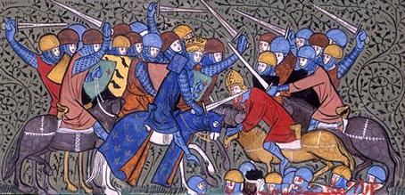 битка между франджи и маври