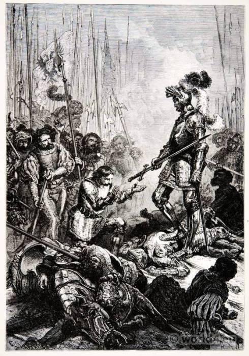 Пленяването на Франсоа I