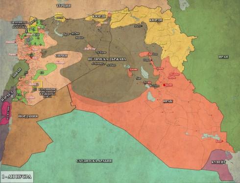 Сирия и Ирак, 02,03,2015г.