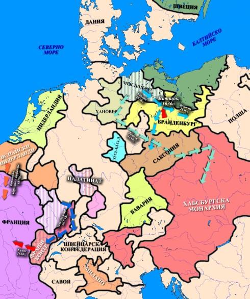 Военните действия 1635-40
