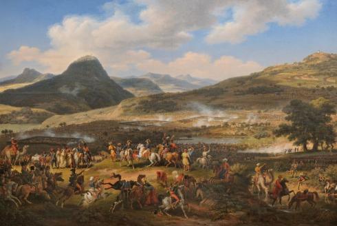 Битката при планината Табор, худ. Луи Франсоа льо Жуен