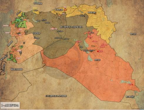 Сирия и Ирак, 21,05,2015г.
