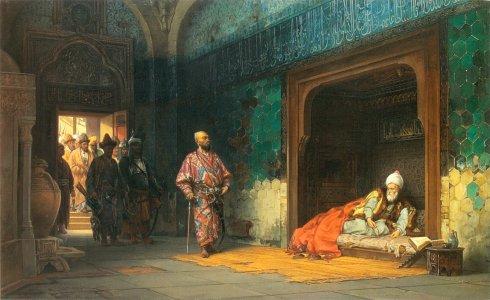 Хлебовски - Тимур и плененият Баязид