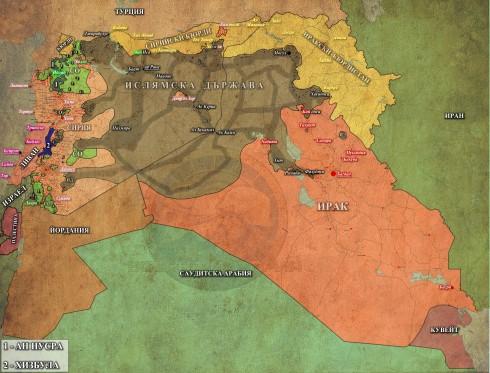 Сирия, Ирак и Ливан, 08,07,2015