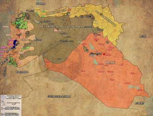 Сирия, Ирак и Ливан, 27,07,2015г.