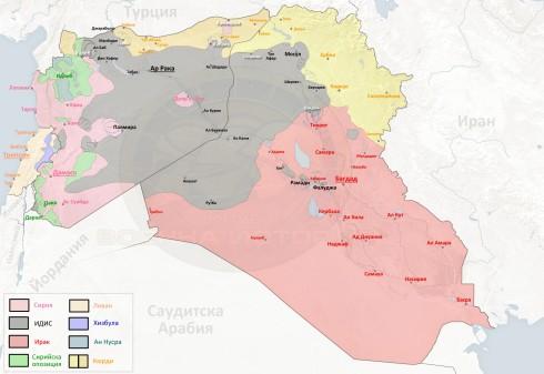 Сирия, Ирак и Ливан, 26,07,2015г.
