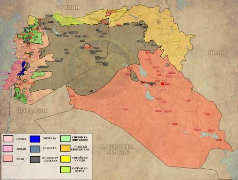Сирия, Ирак и Ливан 19-21,08,2015г.