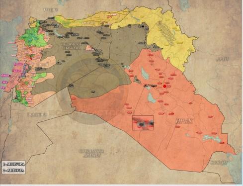 Сирия, Ирак и Ливан - 02-11-2015г.