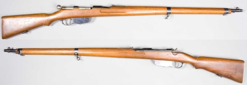 Манлихер, М1895, основното стрелково оръжие на българската пехота, прието на въоръжение през 1903г.