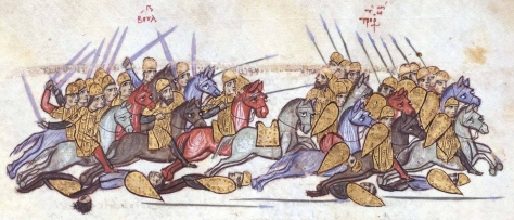Bulgarians_defeat_the_Byzantines_at_Anchialos