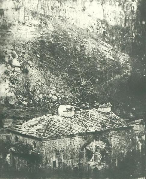 Манастирът след обсадата